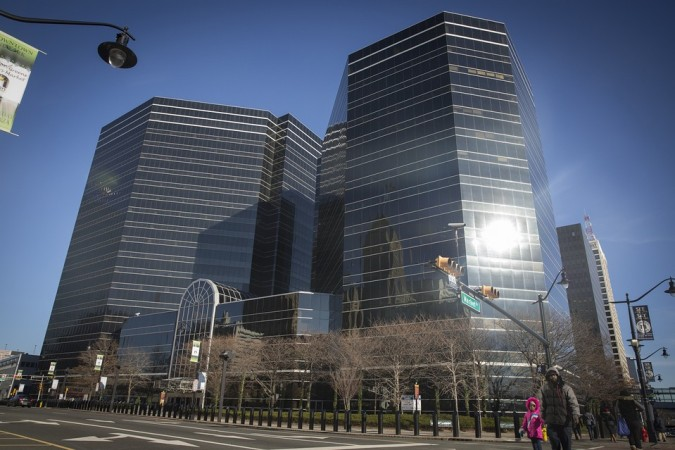 Three Gateway Center in downtown Newark, NJ