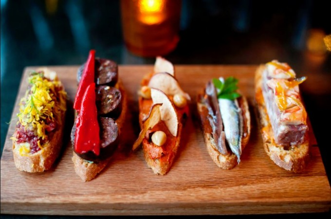 Pintxos at Morcilla. Jeff Swensen for The New York Times